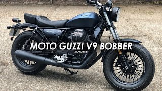 2019 Moto Guzzi V9 Bobber First Ride & Review