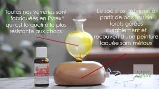 Diffuseur d'huiles essentielles Galea bois clair