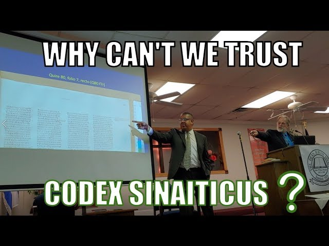 Why Can't We Trust Codex Sinaiticus? (English & Spanish)