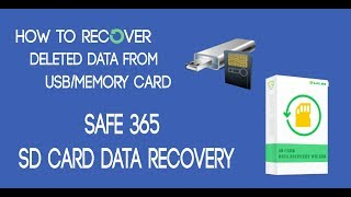 How to recover deleted data from USB/Memory card | Easy Way
