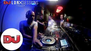 Optiv & BTK Jumpin Jack Frost, Ruffstuff and MC Funsta LIVE from DJ Mag LDN