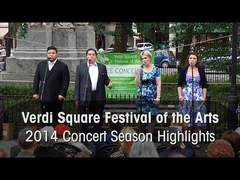 Verdi Square Festival 2014 Concert Highlights