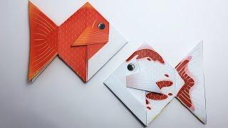 Goldfish Origami tutorial !