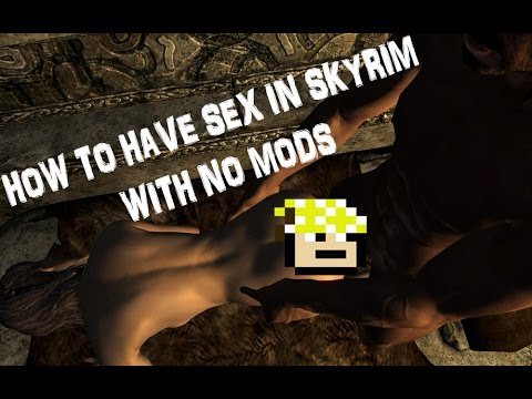 The elder scrolls v skyrim sex mod