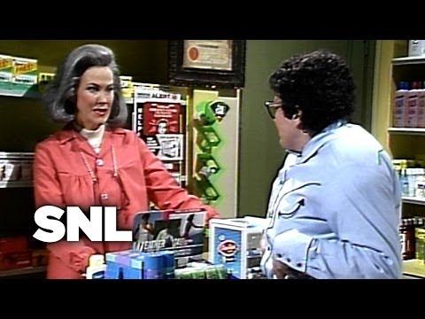 Pat at the Drugstore - Saturday Night Live