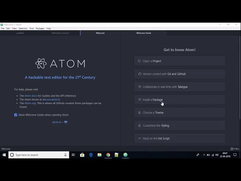 How To Download And Install Atom IDE On Windows 10