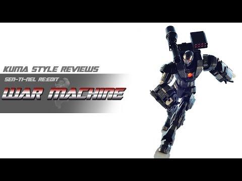 Toy Review: Sentinel Re:Edit War Machine