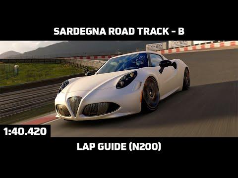 Gran Turismo Sport - Daily Race Lap Guide - Sardegna Road Track B - Alfa Romeo 4C N200