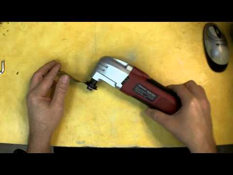 Harbor Freight Oscillating Multifunction Power Tool Review. Item 68861