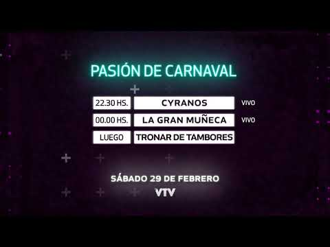 Agenda Carnaval – Sábado 29 de Febrero