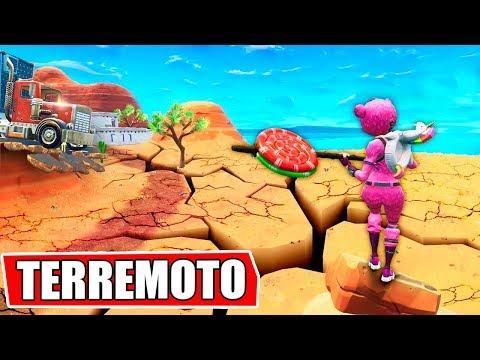 ESTÁ OCURRIENDO!! TERREMOTOS EN FORTNITE! thumbnail
