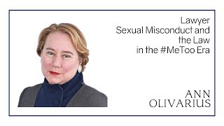 Anne Olivarius | Sexual Misconduct, Law and #MeToo Panel | Cambridge Union