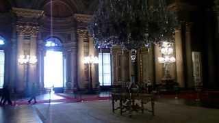 Dolmabahçe Sarayın içinde gizli çekim, Istanbul Turkiye - Turkey HD (Inside Dolmabahce Palace)