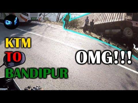 BANDIPUR NEPAL | TRAVEL VLOG | MOTOVLOG | NEPAL