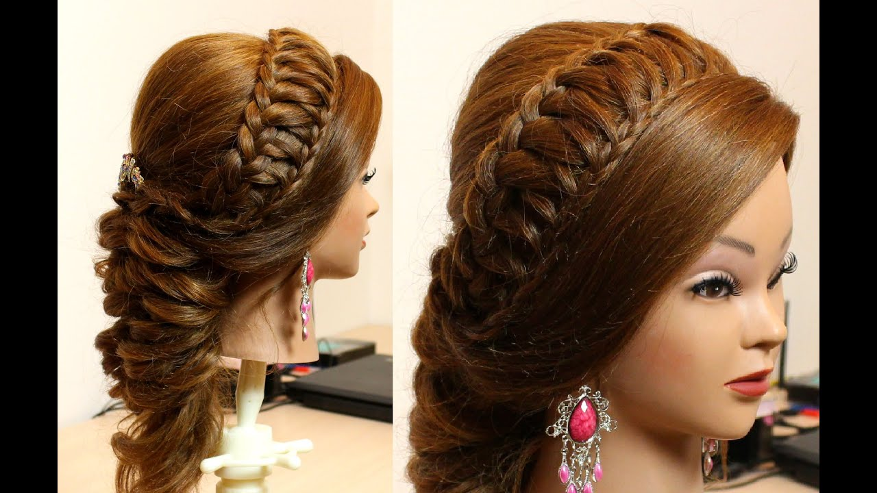 Hair Style Up For Wedding: Bridal Hairstyle For Long Hair Tutorial