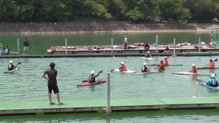 canoe_polo2017 保田ヶ池カップ 対金津高校《前半》