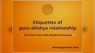 Satsang by Anandmurti Gurumaa| Guru Shishya Sambandh