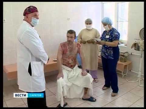 Разработанным саратовскими учеными пластырем лечат ожоги по всей стране