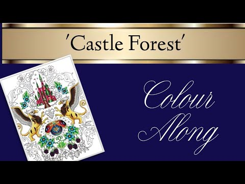 Inky Ivy Castle Forest Colour Along | Part Four