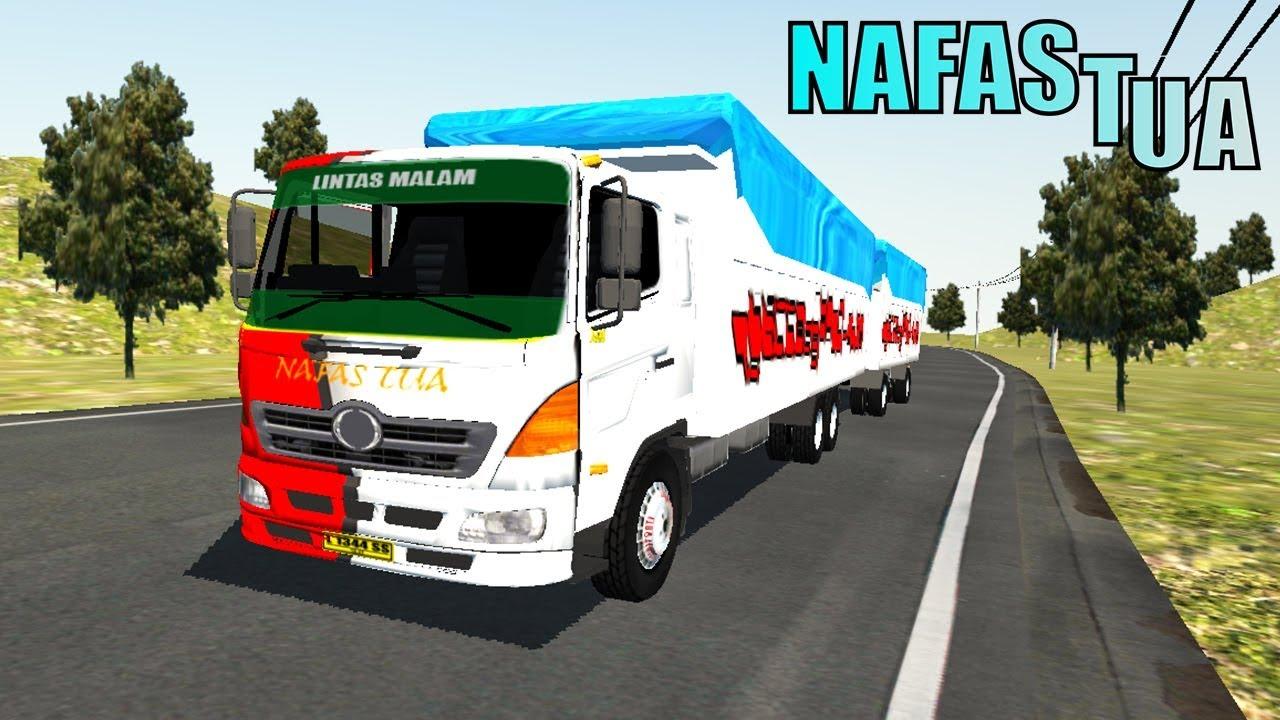 Detik-detik Truk Hino Tidak Kuat Nanjak | IDBS Truck Simulator V2.1 Gameplays Android #1