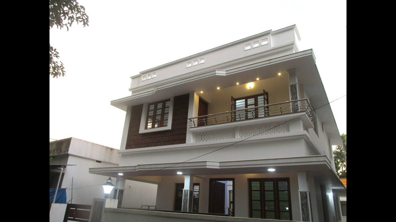 4BHK 1600sqft house in 4.200 Cents at Varapuzha - 56 Lakhs