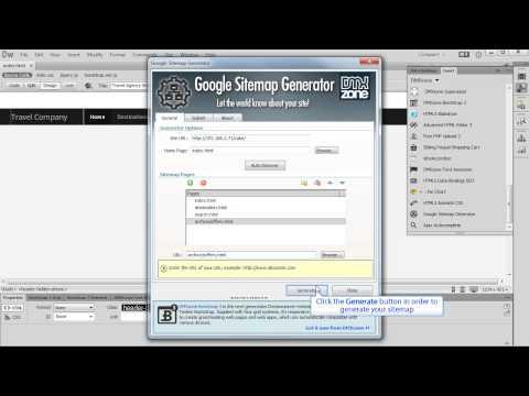 Using Google Sitemap Generator