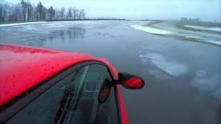 Golf R on Ice