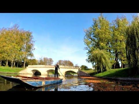 Cambridge boat tour