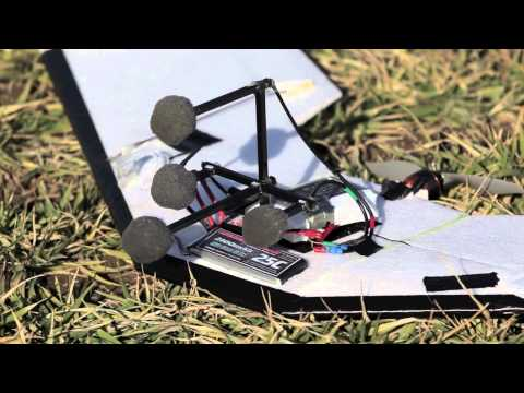 Acoustic Source Localization of Emergency Signals from Micro Air Vehicles