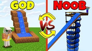 Minecraft Battle: NOOB vs GOD: SWAPPED SLIDE CHALLENGE / Animation
