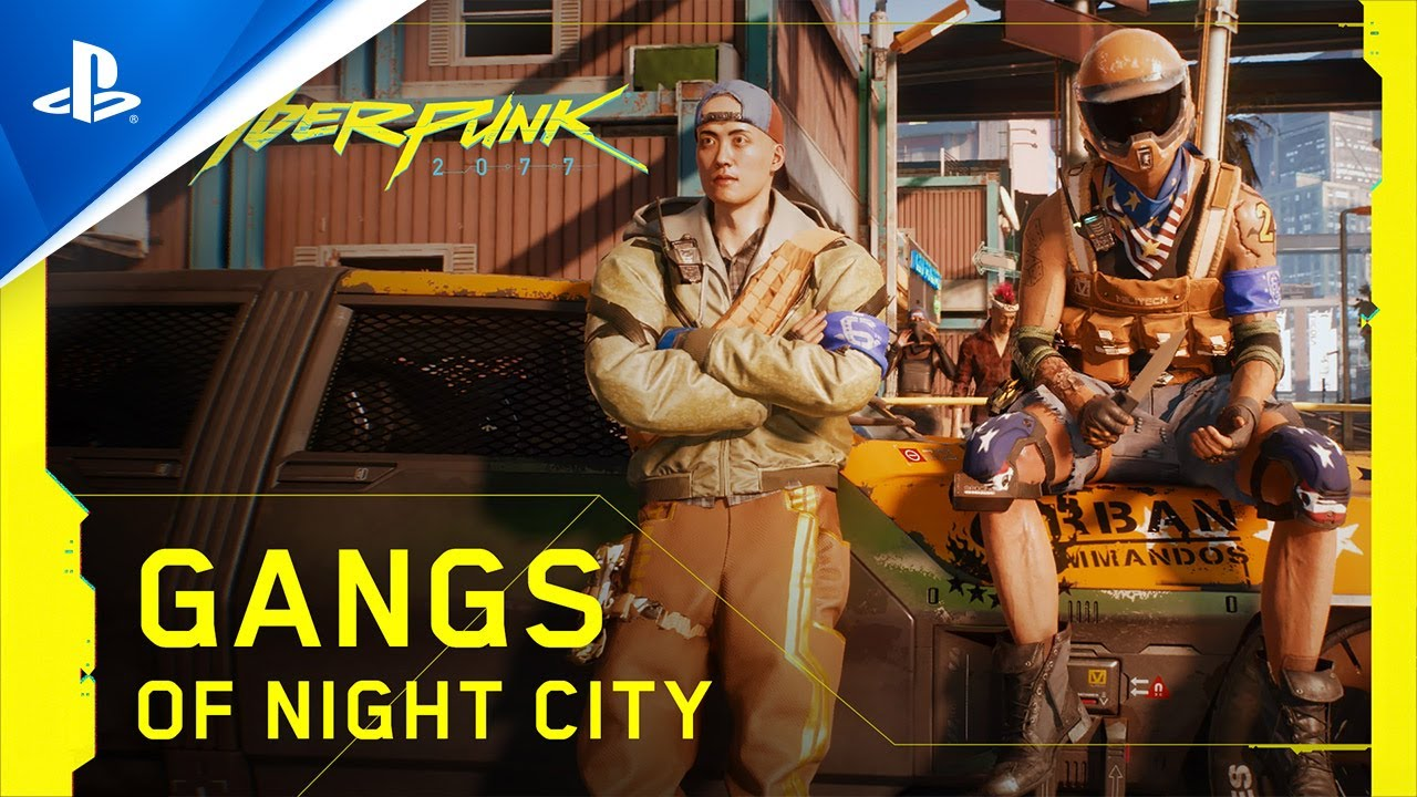 Cyberpunk 2077 - Gangs of Night City | PS4