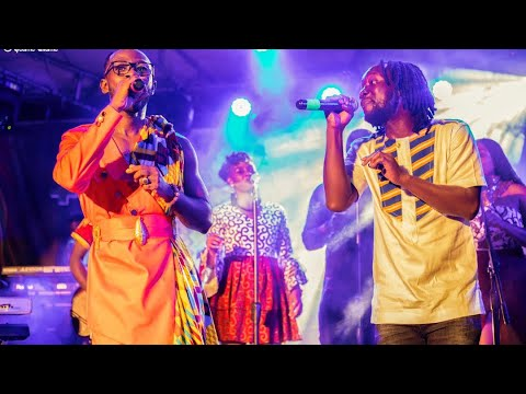 "Afriyie Wutah & Okyeame Kwame Perform at the ""Made In Ghana"" Album Launch"