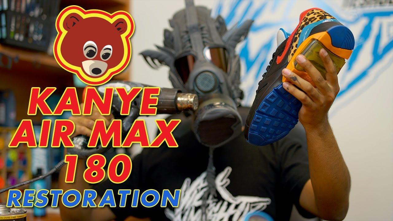 Restoring Unreleased Kanye Air Max 180