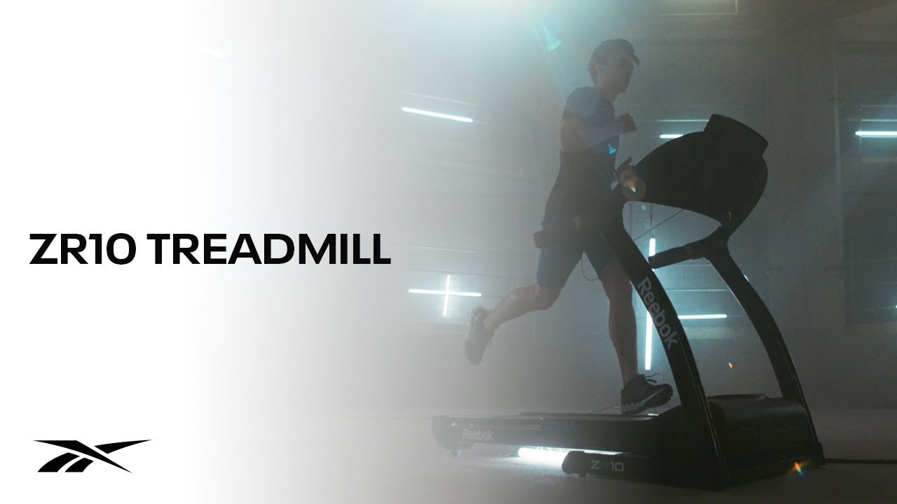 41215ba0a83 Reebok ZR10 Treadmill - YouTube