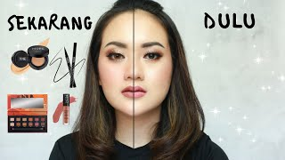 MAKEUP KONDANGAN DULU VS SEKARANG - MAKE OVER ONE BRAND TUTORIAL