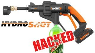 WORX Hydroshot  - Portable Cordless Water Power Cleaner - BEST REVIEW
