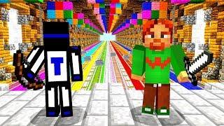 ЧТО ЖДЁТ НАС В КОНЦЕ ЭТОГО ЦВЕТНОГО ПРОХОДА? - Minecraft Party Games