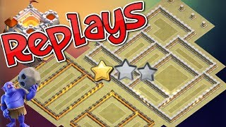 TH11 War Base With 5 Replays 2018 Anti 2 Star Outside Town Hall 11 Anti Max Bowler Anti Queen Walk