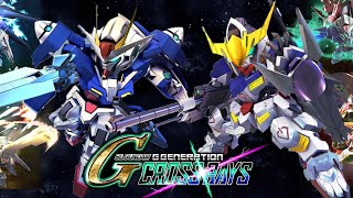Get 00 Gundam without playing the series + Gundam Barbatos - SD Gundam G Generation Cross Rays