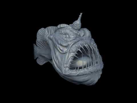 Esbee Shin_sculpting portfolio-Sea Devil