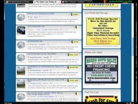 Revenue building locations for sales staff Thrifty Nickel American  Classifieds