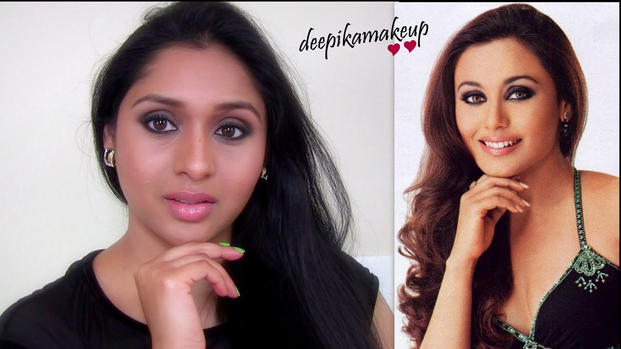 Rani Mukherjee - Smokey Eyes Makeup Tutorial : Inspired ...