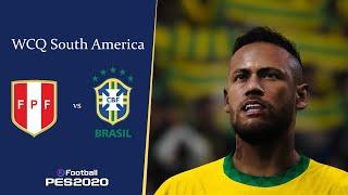 เปรู (Peru) พบ บราซิล (Brazil) | ฟุตบอลโลกรอบคัดเลือก โซนอเมริกาใต้ WCQ South America