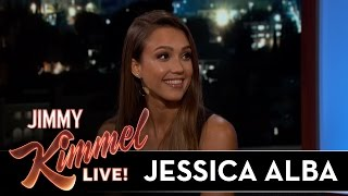 Jessica Alba on Her First Job