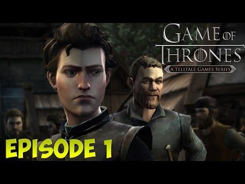 В преддверии выхода 5 сезона Игры Престолов. Game Of Thrones - A Telltale Games Series. Episode 1