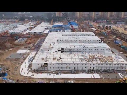 Video: El nuevo hospital contra el coronavirus construido en solo diez días