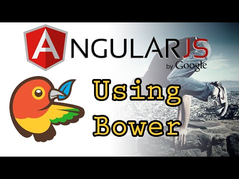 AngularJS - Bower Package Manager - Tutorial 1