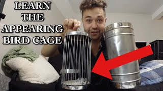 LEARN HOW TO MAKE A BIRDCAGE APPEAR // Stess-Show Vol13// Antique Apparatus Ep2