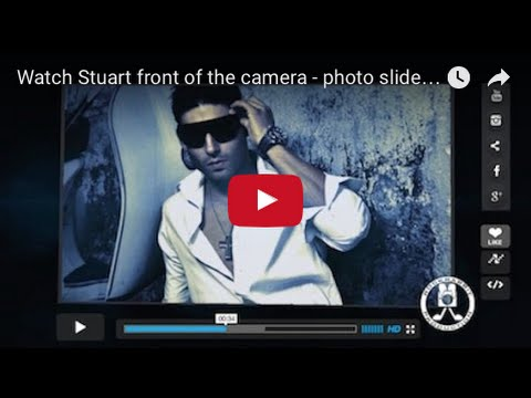 Watch Stuart front of the camera - photo slideshow - Johannesburg