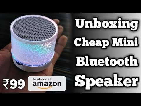 Unboxing Cheap Mini Bluetooth Speaker